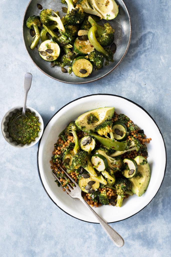 Salade de lentilles et legumes verts grilles-1481-Edit