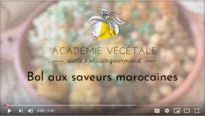 Image vidéo Bol marocain