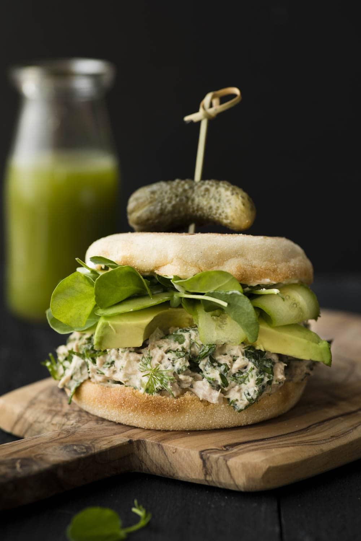 Sandwich salade de thon aux herbes KpourKatrine ATARR-20