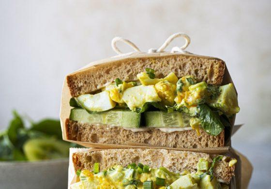 Sandwich oeufs herbes-Réduite